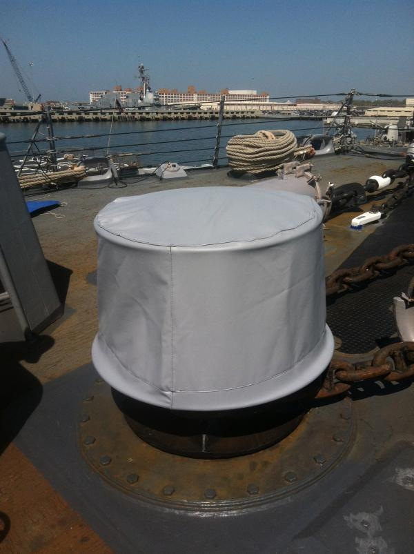 USN DDG Forward Capstan
