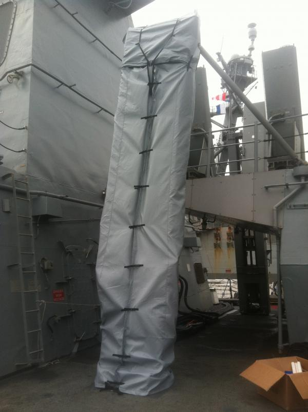 USN DDG T 12 Sliding Pad Eye